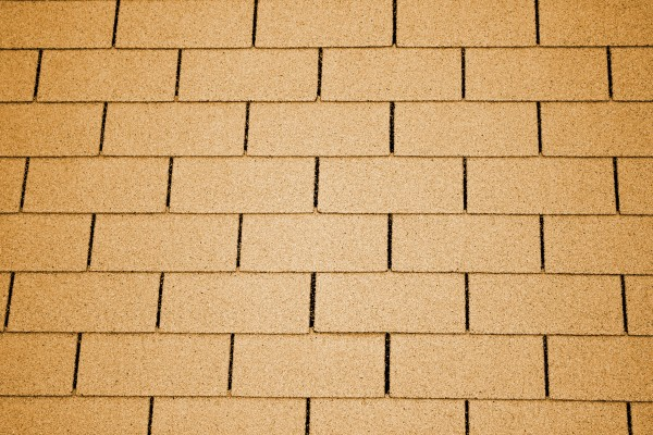 Golden Tan Asphalt Roof Shingles Texture - Free High Resolution Photo