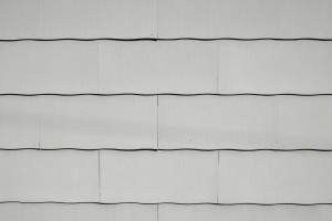 Gray Scalloped Asbestos Siding Shingles Texture - Free High Resolution Photo