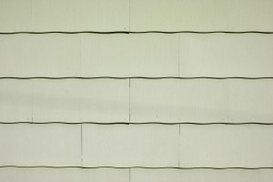 Khaki Scalloped Asbestos Siding Shingles Texture - Free High Resolution Photo