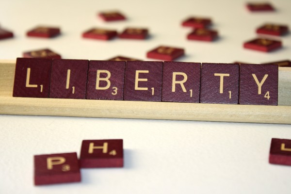 Liberty - Free High resolution photo of Scrabble tiles spelling the word Liberty