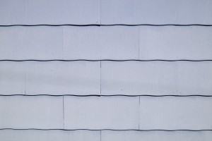 Light Blue Scalloped Asbestos Siding Shingles Texture - Free High Resolution Photo