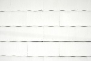 White Scalloped Asbestos Siding Shingles Texture - Free High Resolution Photo