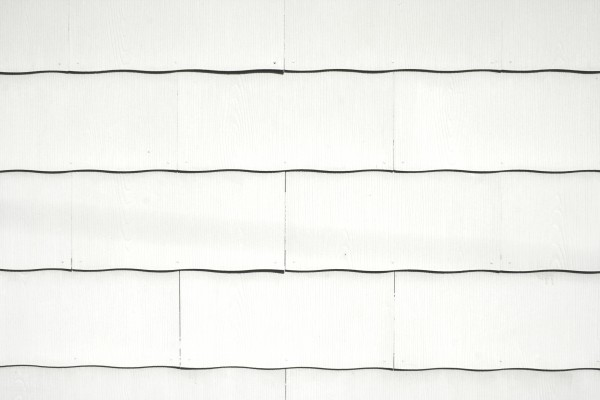 White Scalloped Asbestos Siding Shingles Texture - Free High Resolution Photo