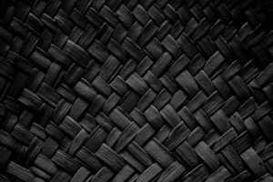 Black Woven Straw Texture - Free High Resolution Photo