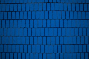 Blue Brick Wall Texture with Vertical Bricks - Free High Resolution Photo