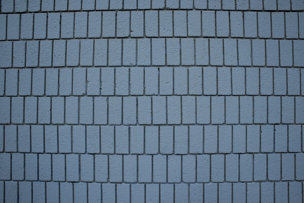 Blue Gray Brick Wall Texture with Vertical Bricks - Free High Resolution Photo