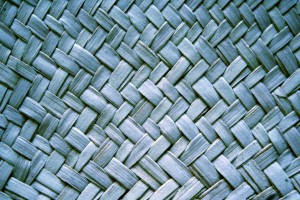 Blue Woven Straw Texture - Free High Resolution Photo