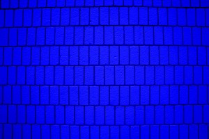 Bright Blue Brick Wall Texture with Vertical Bricks - Free High Resolution Photo