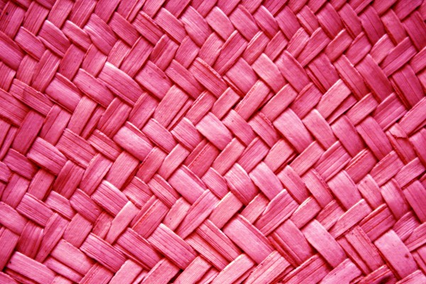 Bright Pink Woven Straw Texture - Free High Resolution Photo