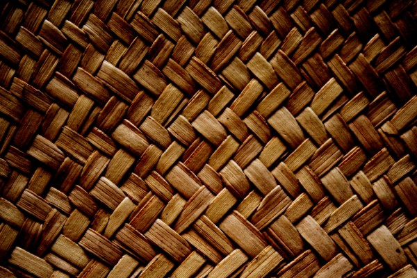 Brown Woven Straw Texture - Free High Resolution Photo