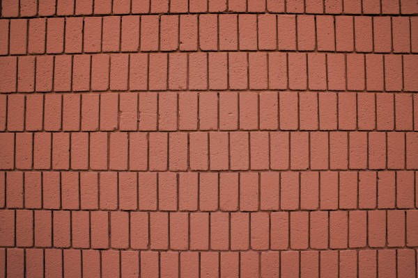 Clay Colored Brick Wall Texture with Vertical Bricks - Free High Resolution Photo
