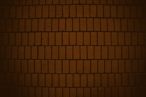 Dark Orange Brick Wall Texture with Vertical Bricks - Free High Resolution Photo