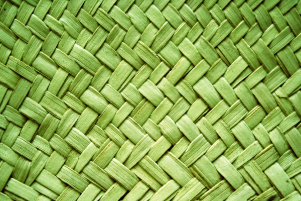 Green Woven Straw Texture - Free High Resolution Photo