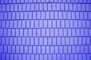 Indigo Blue Brick Wall Texture with Vertical Bricks - Free High Resolution Photo