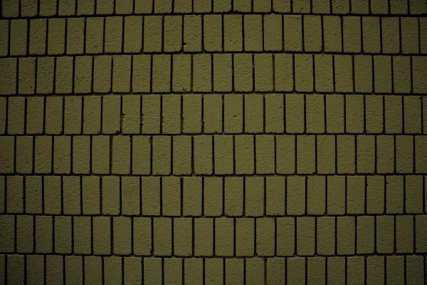 Khaki Olive Green Brick Wall Texture with Vertical Bricks - Free High Resolution Photo