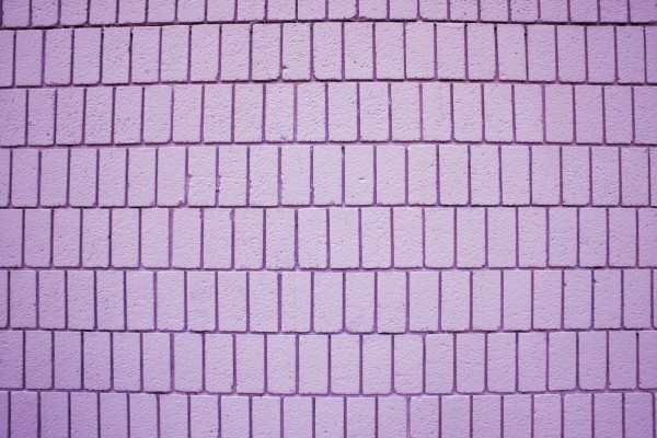 Lavender Brick Wall Texture with Vertical Bricks - Free High Resolution Photo