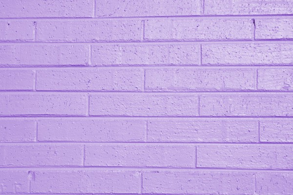 Lilac or Lavender Painted Brick Wall Texture - Free High Resolution Photo