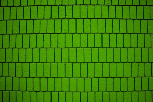 Lime Green Brick Wall Texture with Vertical Bricks - Free High Resolution Photo