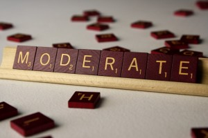 Moderate - Free High Resolution Photo of the word moderate spelled in Scrabble tiles
