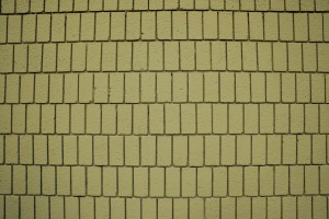 Mustard Yellow Brick Wall Texture with Vertical Bricks - Free High Resolution Photo