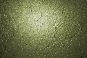 Olive Green Leather Texture - Free High Resolution Photo