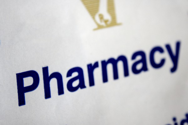 Pharmacy - Word Printed on Medication Bag - Free High Resolution Photo
