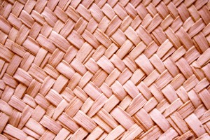 Pink Woven Straw Texture - Free High Resolution Photo