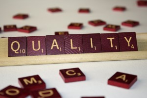 Quality - Free High Resolution Photo of the word Quality spelled in Scrabble tiles
