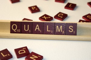 Qualms - Free High Resolution Photo of the word Qualms spelled in Scrabble tiles