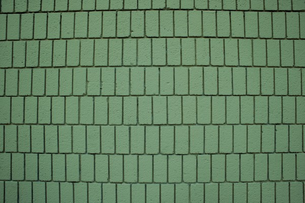 Sage Green Brick Wall Texture with Vertical Bricks - Free High Resolution Photo