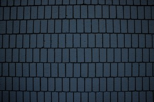 Steel Blue Brick Wall Texture with Vertical Bricks - Free High Resolution Photo