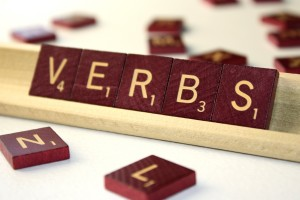Verbs - Free high resolution photo of the word verbs spelled in scrabble tiles