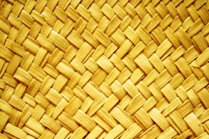 Yellow Woven Straw Texture - Free High Resolution Photo