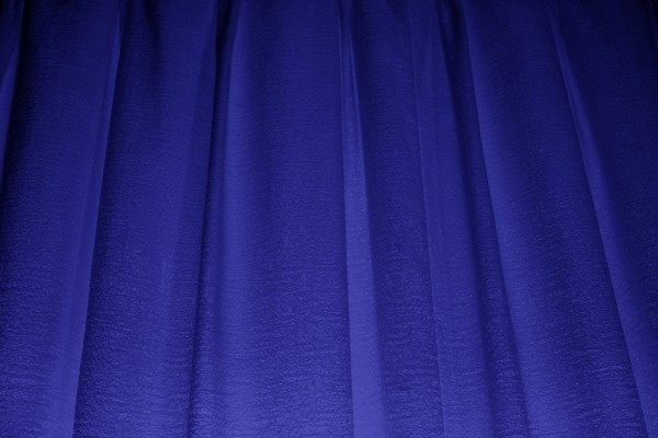 Deep Blue Curtains Texture - Free High Resolution Photo