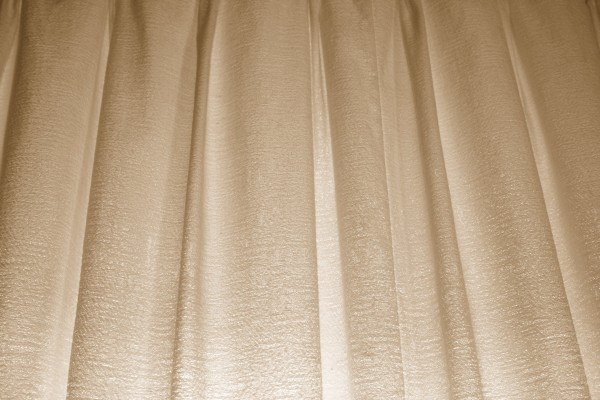 Tan Curtains Texture - Free High Resolution Photo