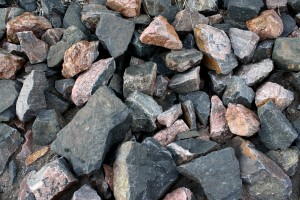 Big Black and Red Rocks Texture - Free High Resolution Photo