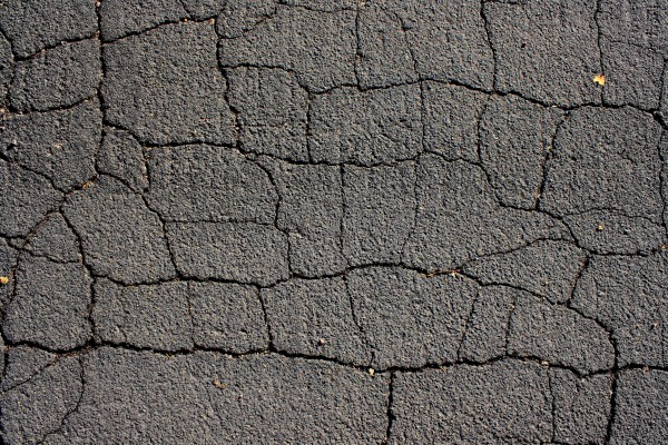 Cracked Black Top Asphalt Pavement Texture - Free High Resolution Photo