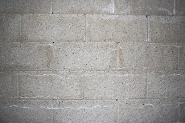 Gray Concrete or Cinder Block Wall Texture - Free High Resolution Photo