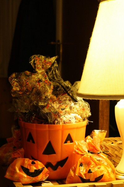 Halloween Treat Bags full of Candy for Trick-or-Treaters - Free High Resolution Photo