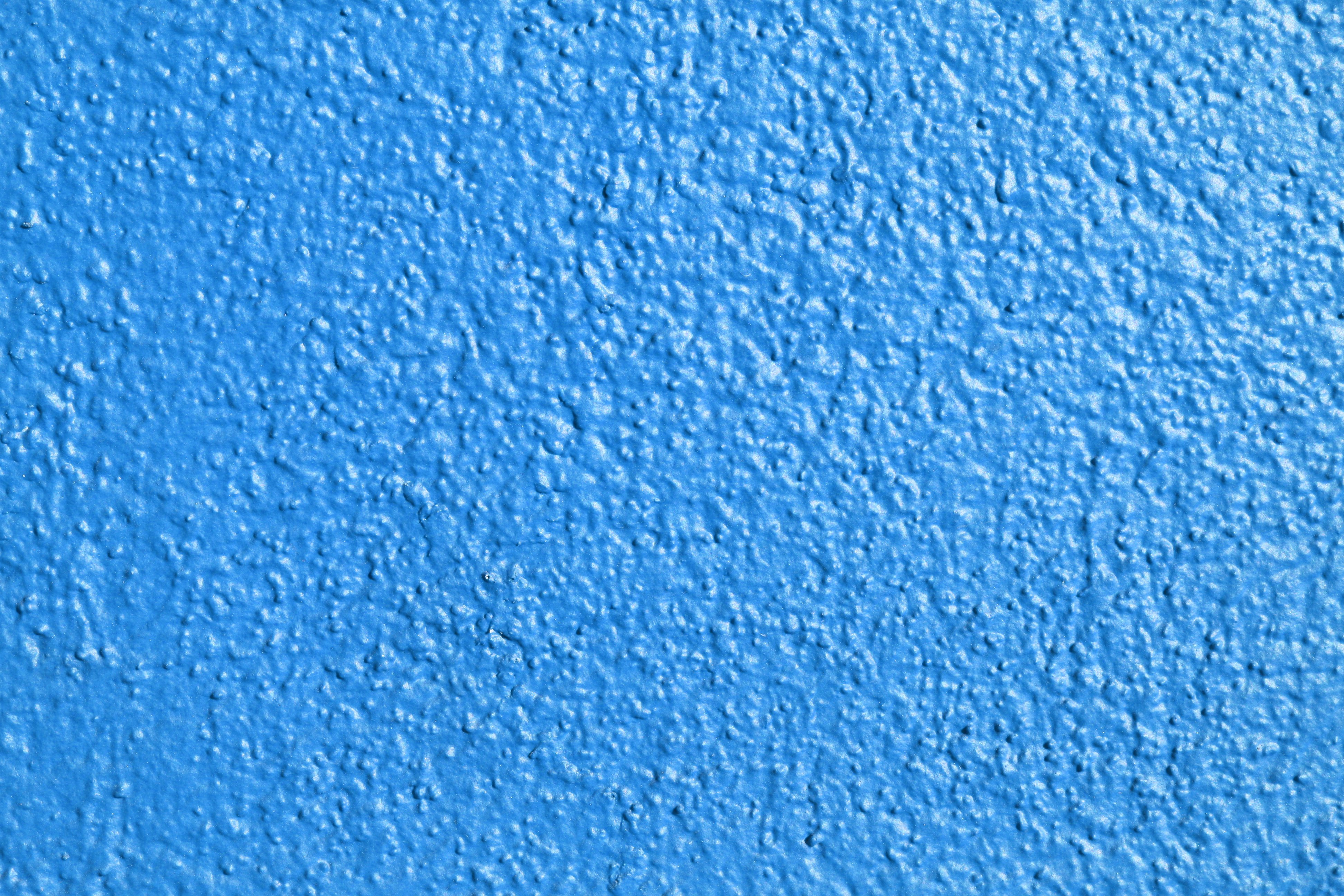 Sky Blue Painted Wall Texture