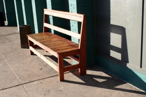 Wooden Bench in the Sunlight - Free High Resolution Photo