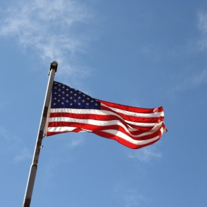 American Flag Atop Flagpole - Free High Resolution Photo