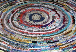 Colorful Rag Rug Texture - Free High Resolution Photo
