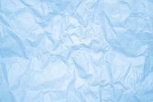 Crumpled Baby Blue Paper Texture - Free High Resolution Photo