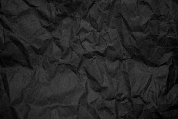 Crumpled Black Paper Texture - Free High Resolution Photo