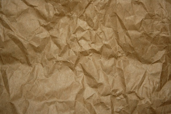 Crumpled Brown Paper Texture - Free High Resolution Photo