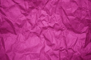 Crumpled Fuchsia Paper Texture - Free High Resolution Photo
