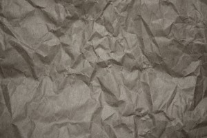 Crumpled Gray Paper Texture - Free High Resolution Photo