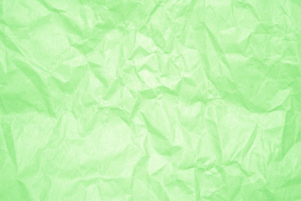 Crumpled Light Green Paper Texture - Free High Resolution Photo