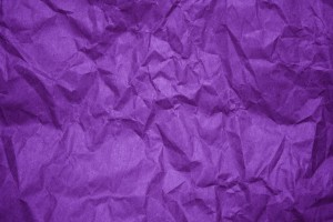 Crumpled Purple Paper Texture - Free High Resolution Photo